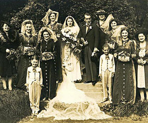 family, photography, and old image
