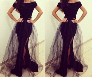 dress, Haute, and luxurious image