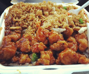 food, chinese food, and yummy image