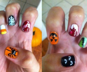 cool, Halloween, and nail image