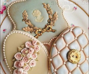 biscuits, cake, and cream image