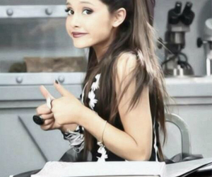 ariana grande, ariana, and popular song image