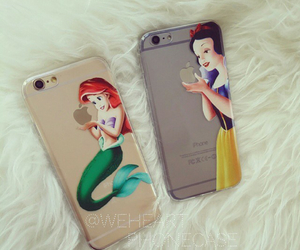 iphone, disney, and princess image