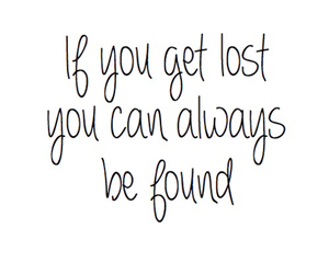 quote, always, and lost image