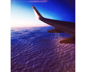 airplane, Dream, and fly image