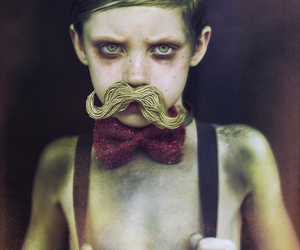 boy and mustache image