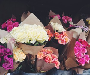 flowers, sweet, and pink image