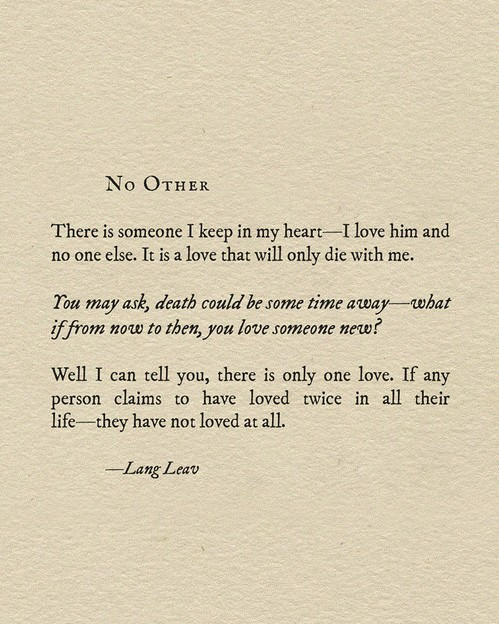 Lang Leav, quote, and you and me image