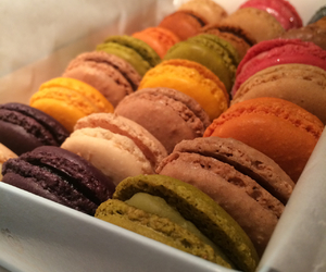 boyfriend, macaroons, and love image