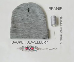 diy, tutorial, and beanie image