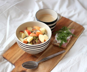 breakfast, breaky, and coffee image