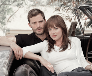 Jamie Dornan, fifty shades of grey, and couple image