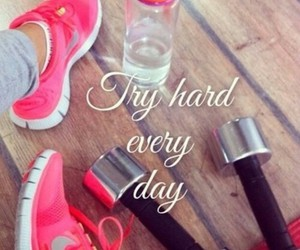day, nike, and quote image