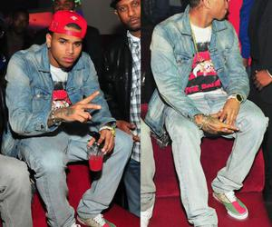 chris brown, chris, and swag image