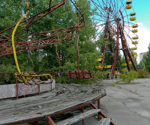 chernobyl, park, and theme image