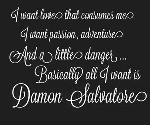 damon, quote, and tvd image