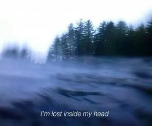 grunge, lost, and sad image