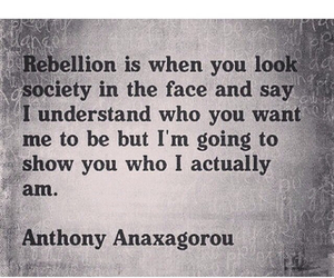 rebellion and society image