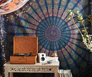 boho, room, and hippie image