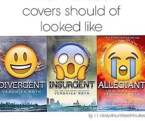 insurgent, divergent, and book image