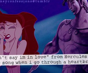 confession, disney, and heart image