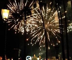 disney, fireworks, and epcot image