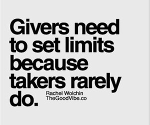 quotes, takers, and giver image