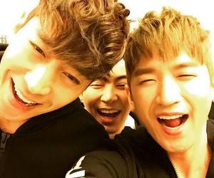 eric, shinhwa, and minwoo image