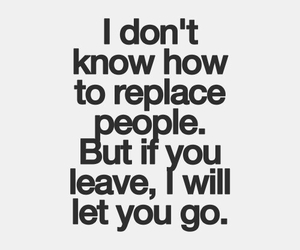 quote, leave, and let it go image