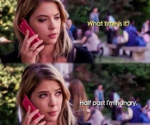 funny, hanna, and pretty little liars image