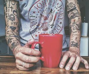 tattoo, boy, and ramones image