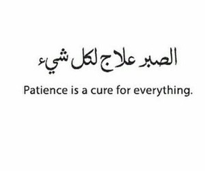 patience, cure, and everything image