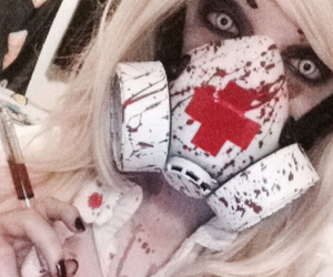 bloody, comic con, and cosplay image