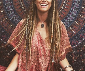 beautiful and hippie image