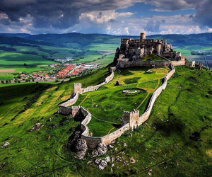 beautiful, castle, and countryside image