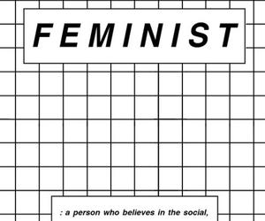 feminist, feminism, and beyoncé image