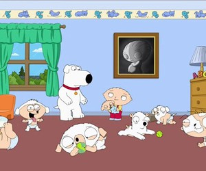 babies, brian, and family guy image
