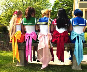 sailor moon, cosplay, and people image