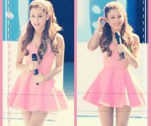 ariana pink collage image