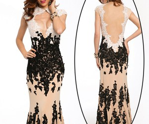 prom dresses, sexy prom dress, and backless prom dresses image