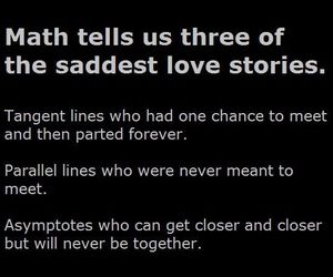 math, love, and story image