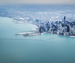 city, sea, and ocean image
