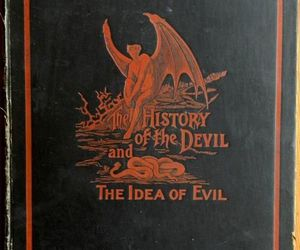 book, Devil, and evil image