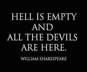 devils, hell, and shakespeare image
