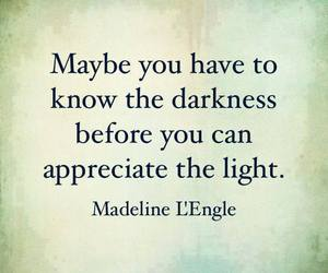 Darkness, light, and madeline lengle image