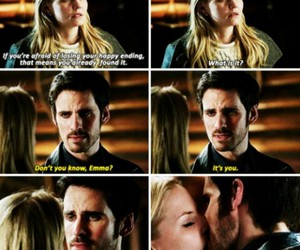 once upon a time, captain swan, and beautiful image