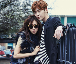 park shin hye, lee jong suk, and actor image