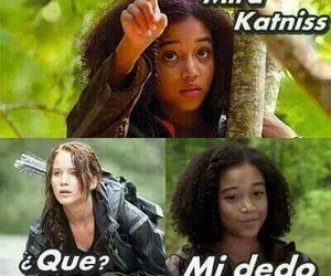 rue and katniss image