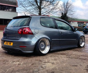 golf, low, and vw image