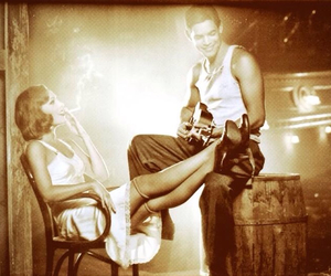 Bonnie & Clyde, broadway, and b&c image